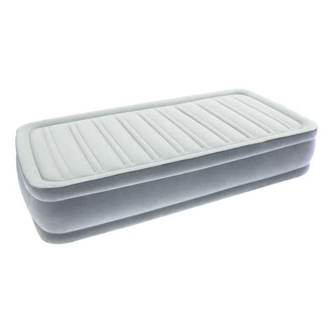 colchones inflables el corte ingles cama de aire individual flocada sleepzone hinchador