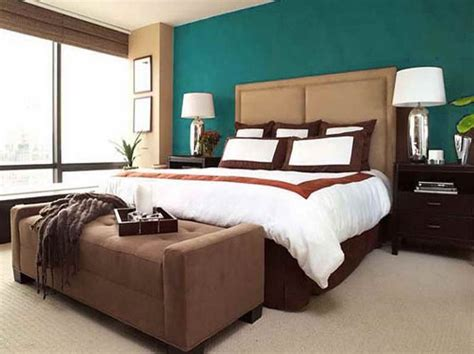 brown paint in bedroom color combinations for bedrooms from turquoise and