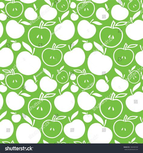 pattern apple background seamless apple background vector pattern 106458104