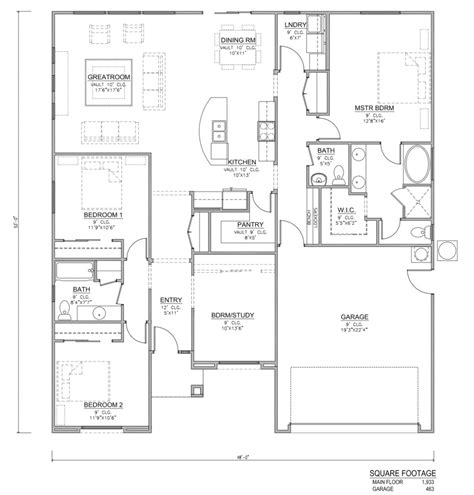 redwood house plans perry homes southern utah