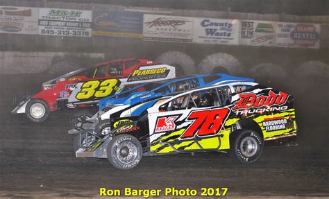 Steve Dodd Plumbing And Heating by Small Block Modifieds Highlight The Racing Saturday