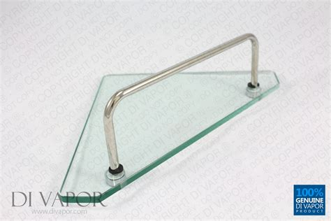 Shower Bath Enclosures glass corner storage shelf for shower enclosure 22cm x 22cm