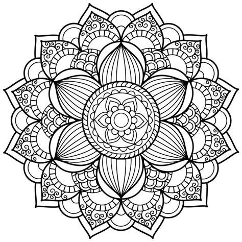 Mandala Coloring Pages Print Mandala Coloring Pages With