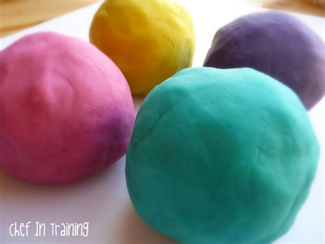 Handmade Playdough - the softest and squishiest playdough chef in