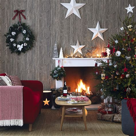 christmas home decor uk country christmas decorating ideas ideal home
