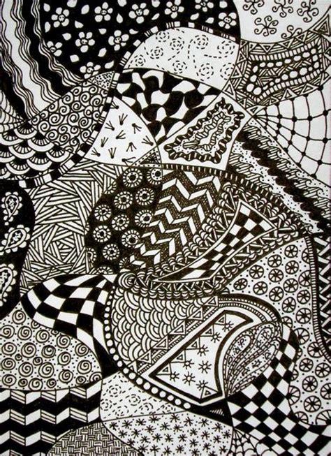 doodle zentangle zentangle patterns