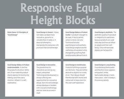 responsive layout div height responsive equal height blocks jquery plugins