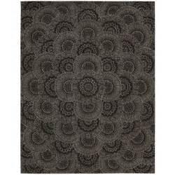 2000 black grey area rug wayfair
