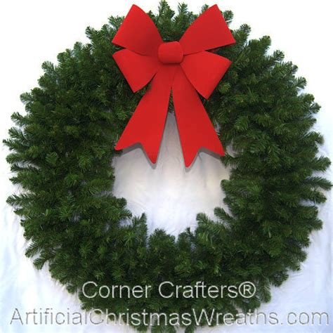 4 foot deluxe christmas wreath without lights