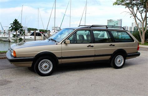 1986 volkswagen quantum gl5 wagon revisit german cars