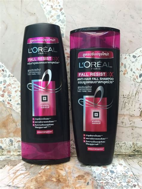 Shoo Loreal Hair Fall l oreal elseve elvive arginine resist x3 anti hair fall
