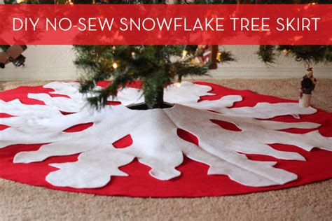 how to make a diy no sew tree skirt 187 curbly diy design