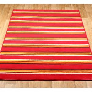 Modern Cheap Rugs Cheap Fusion Large X Large Rugs Striped Modern Bright Colours Rug Various Sizes From Rugshop Uk