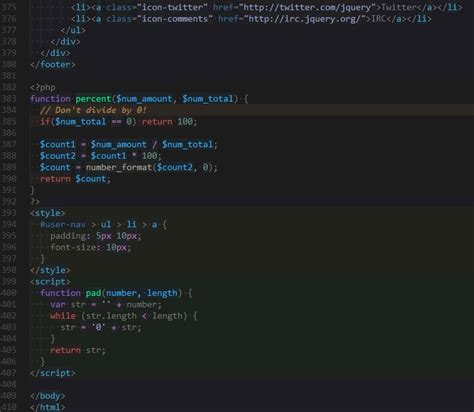 thunderstorm a sublime text theme for web developers farzher sublime text themes probably the most useful theme