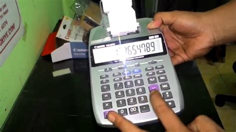 Printer Canon Yang Bisa Fotocopy Kertas F4 tutorial menggunakan kalkulator portable printer canon p23 dtsc