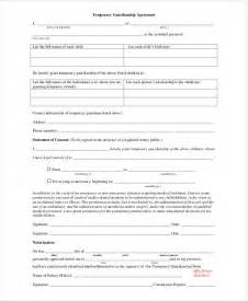 free guardianship template guardianship forms 9 free pdf word free premium