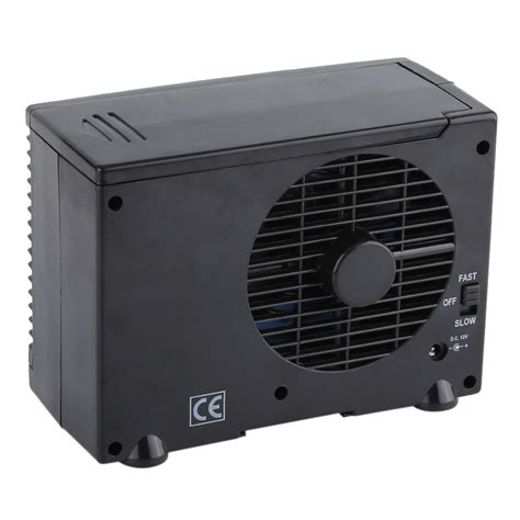 mini air conditioning fan car truck cooler conditioning fan water ice evaporative