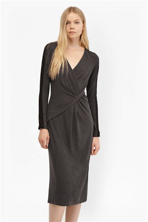 jersey drape dress wool drape jersey dress dresses french connection