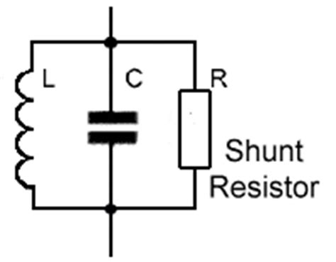 shunt resistor in parallel ding