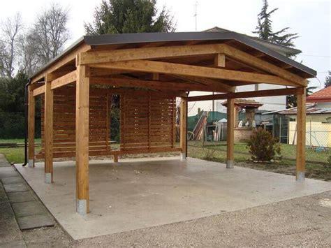 pendenza tettoia in legno tettoia in legno a 2 falde amalegno