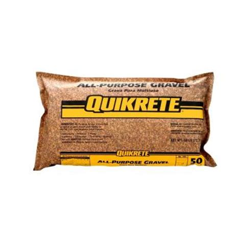 concrete bags home depot quikrete 50 lb all purpose gravel 115150 the home depot