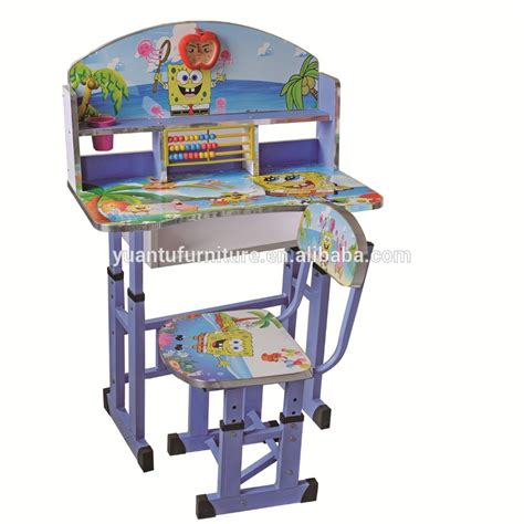 toddler study table cheap factory price children study table and chair set