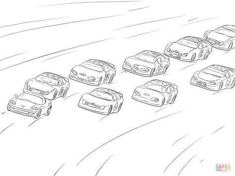 coloring pages racing nascar racing coloring page free printable coloring pages