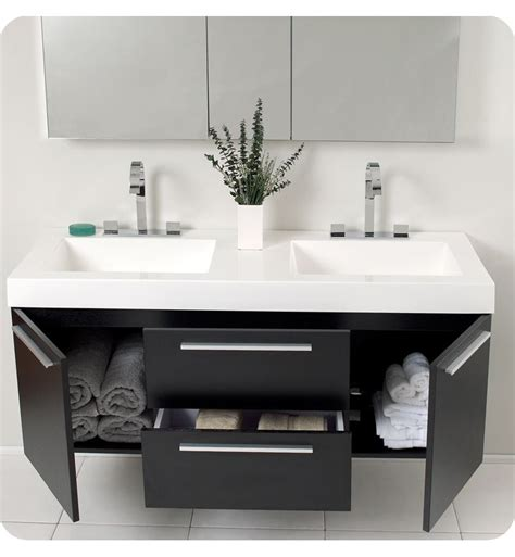 suspended bathroom vanity best 25 double sink bathroom ideas on pinterest double