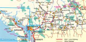 map of southern bc a southern bc road trip more than 25