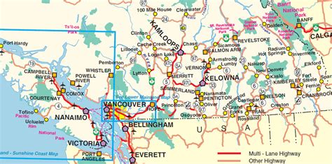 map a road trip must sees on a southern bc road trip vancouver island view