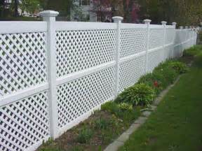 How lattice is used to beautify decks fences gazebos and railings