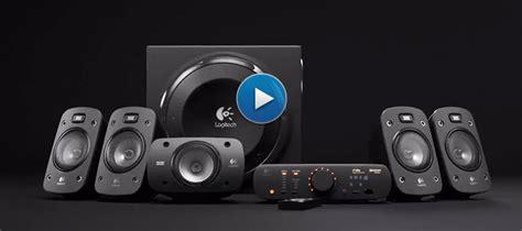Logitech Z906 5 1 Surround Sound Speaker System speaker system z906 logitech en us