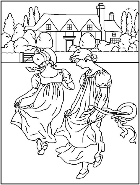 mother goose coloring pages coloring home