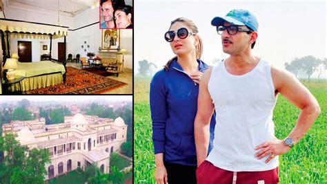 saif ali khan house interior in pataudi inside photos of saif ali khan and kareena kapoor pataudi