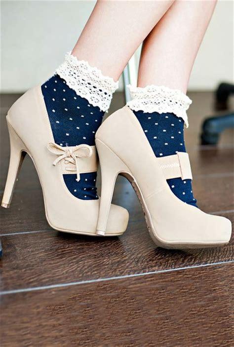 7 Sweet Looking Socks by Socks High Heels Vintage Girly Girly