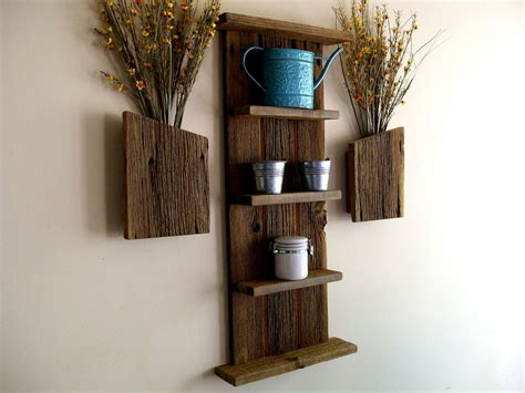 wood bathroom wall shelves decosee