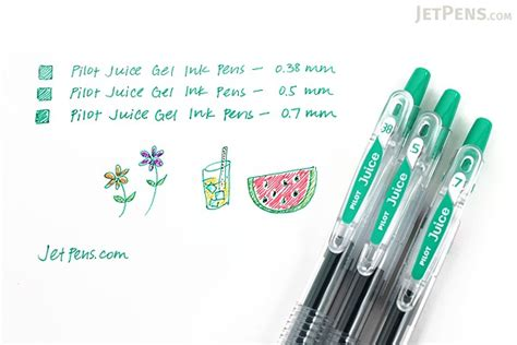 0 38 Mm Pen pilot juice gel pen 0 38 mm black jetpens