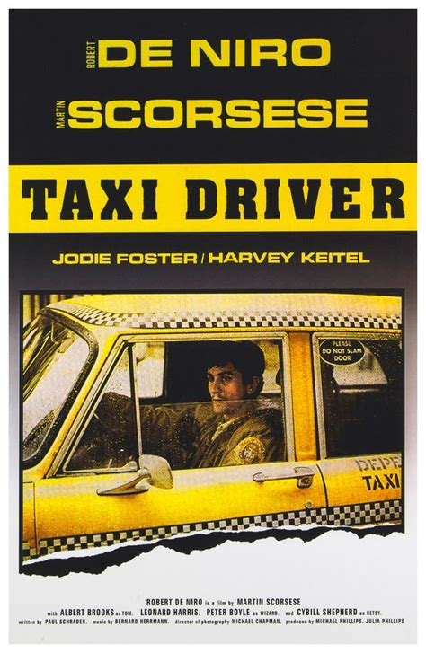 The Vigilante Taxi by Taxi Driver Is A 1976 American Crime Vigilante