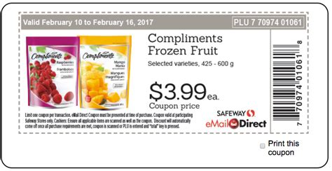 Gift Card Balance Sobeys - safeway sobeys canada weekly coupons compliments frozen fruit for 3 99 each more