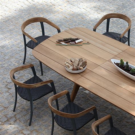 material for outdoor furniture royal botania outdoor dining furniture luxury quality garden furniture