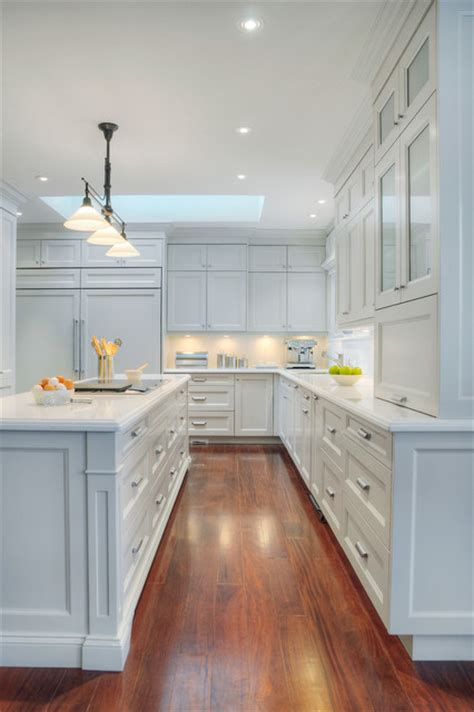 Elegant White Kitchen Traditional Kitchen toronto by Cliff and Evans Ltd.