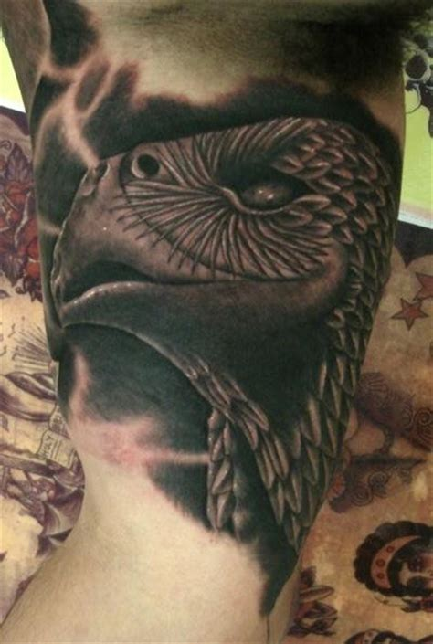 goethe tattoo aztec eagle in tattoos by goethe