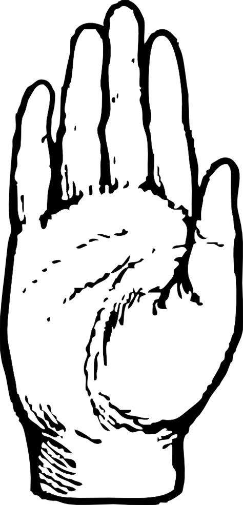 OnlineLabels Clip Art - Right Hand