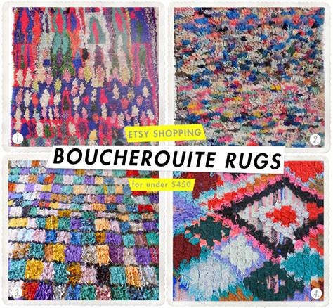 Boucherouite Rug Diy by Etsy Finds