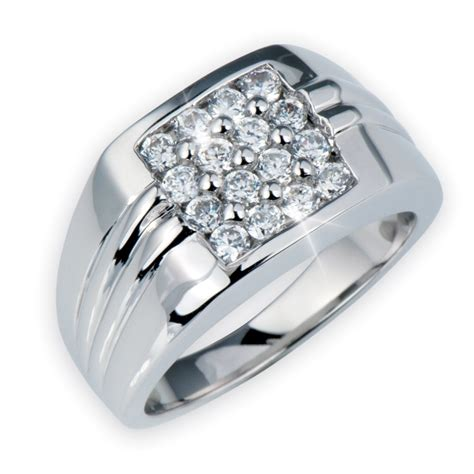 silver rings for mirage mens ring silver 171 diamantbilds