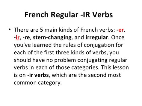 ir verb pattern french all worksheets 187 conjugating french verbs worksheets