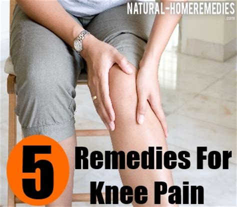 5 home remedies for knee treatment and cure