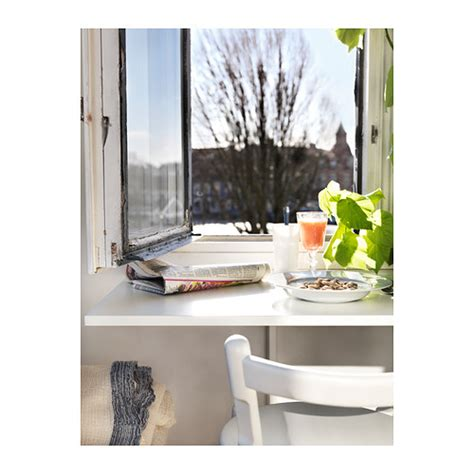 Drop Leaf Wall Table Norberg Wall Mounted Drop Leaf Table White 74x60 Cm Ikea