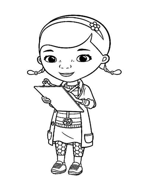 imagenes para colorear la doctora juguetes dibujos para colorear doctora juguetes para ni 241 os