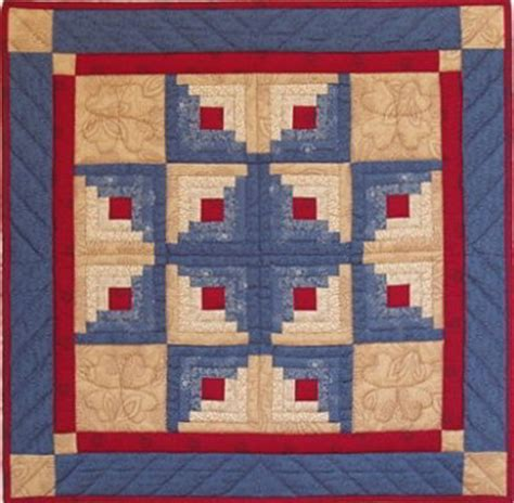 Log Cabin Patchwork - log cabin from s of greenfield kits